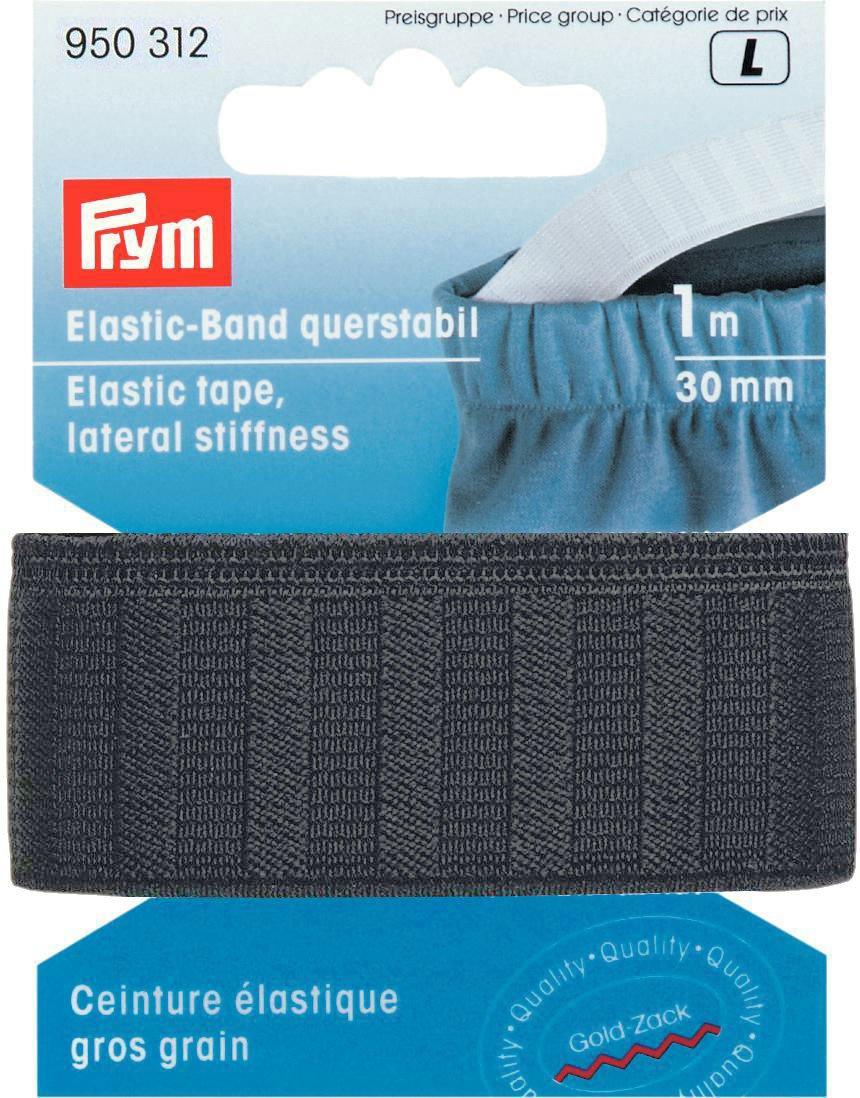950251 Elastic-Band querstabil 25mm schwarz