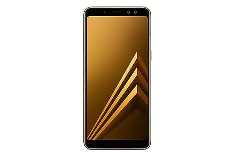 2c346a91b4fbaf Samsung Galaxy A8 (2018) Smartphone, Gold, 32GB espandibili, Dual ...