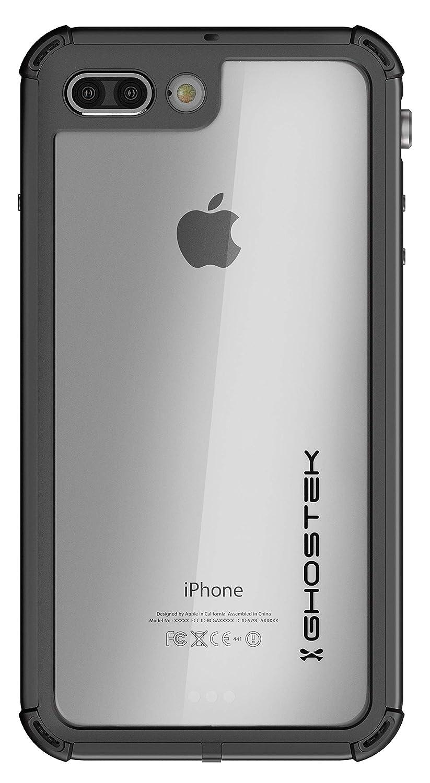 iPhone 7 Plus / 8 Plus Waterproof Case, Ghostek Atomic 3 for Apple iPhone 7 Plus & iPhone 8 Plus | Shockproof Snowproof Underwater Swimming Diving ...