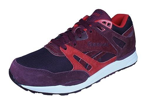 fd34303cd9285 Reebok Clásico Ventilator MT Moda Hombre Zapatilla De Deporte Rojo  Amazon. es  Zapatos y complementos