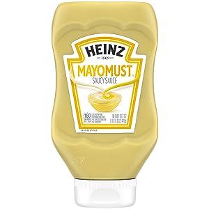Heinz Mayomust Mayonnaise & Mustard Sauce Mix (16.6 oz Bottle)