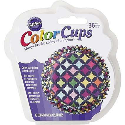 Wilton 415-8769 36 Count Diamond Pattern Cupcake Liners