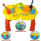 Summer Fun Sand and Water Table–grande divertimento sulla spiaggia o in giardino–TY1987