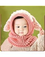 caps sciarpa cappuccio, FEITONG bambino di inverno dei ragazzi delle ragazze caldo di lana cappelli Coif
