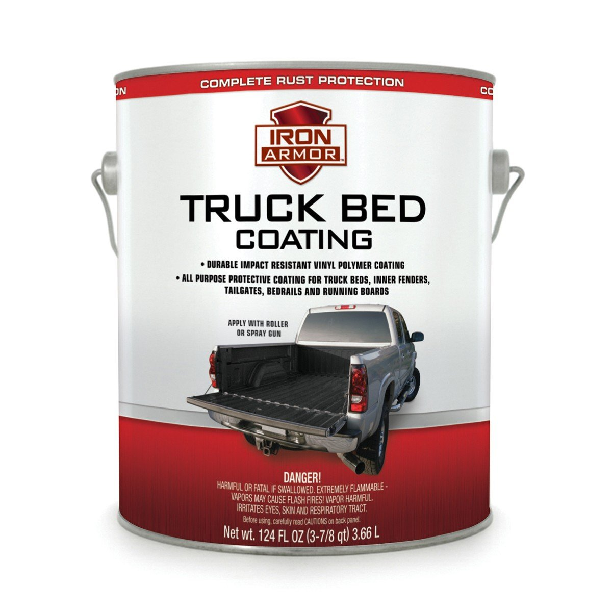 Amazon.com: Iron Armor Truck Bed Coating in 1 Gallon. Spray on or ...