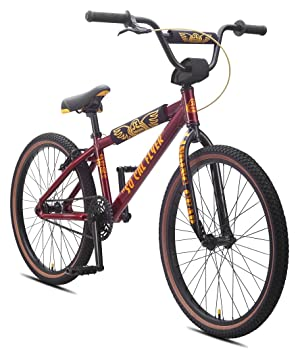dad375f83ff SE Bicycles So Cal Flyer BMX Bicycle, Metallic Red, 24