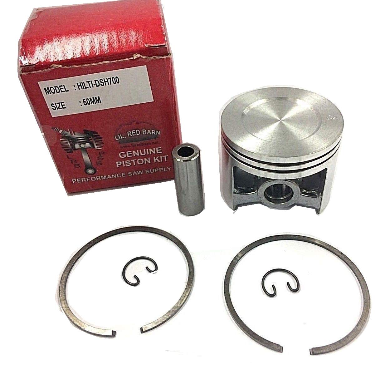 Hilti DCS 700,DSH 700X Concrete Cut Off Saw Piston, 50MM Kit, Replaces Hilti Part # 412238 2 DAY STANDARD SHIPPING TO ALL 50 STATES!