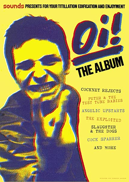 Amazon com: ArtIFicial Oi! The Album Music Poster 23 5x33 inch