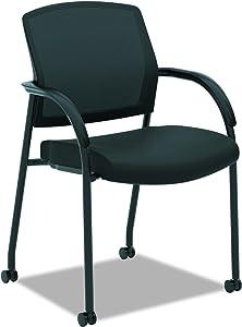 HON Lota Multi-Purpose Side Chair - Office Chair or Training Room Chair, Black (H2285)
