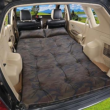 D&F SUV Colchón de AirCama Doble Cama de Coche Portátil para Viajar al Aire Libre,