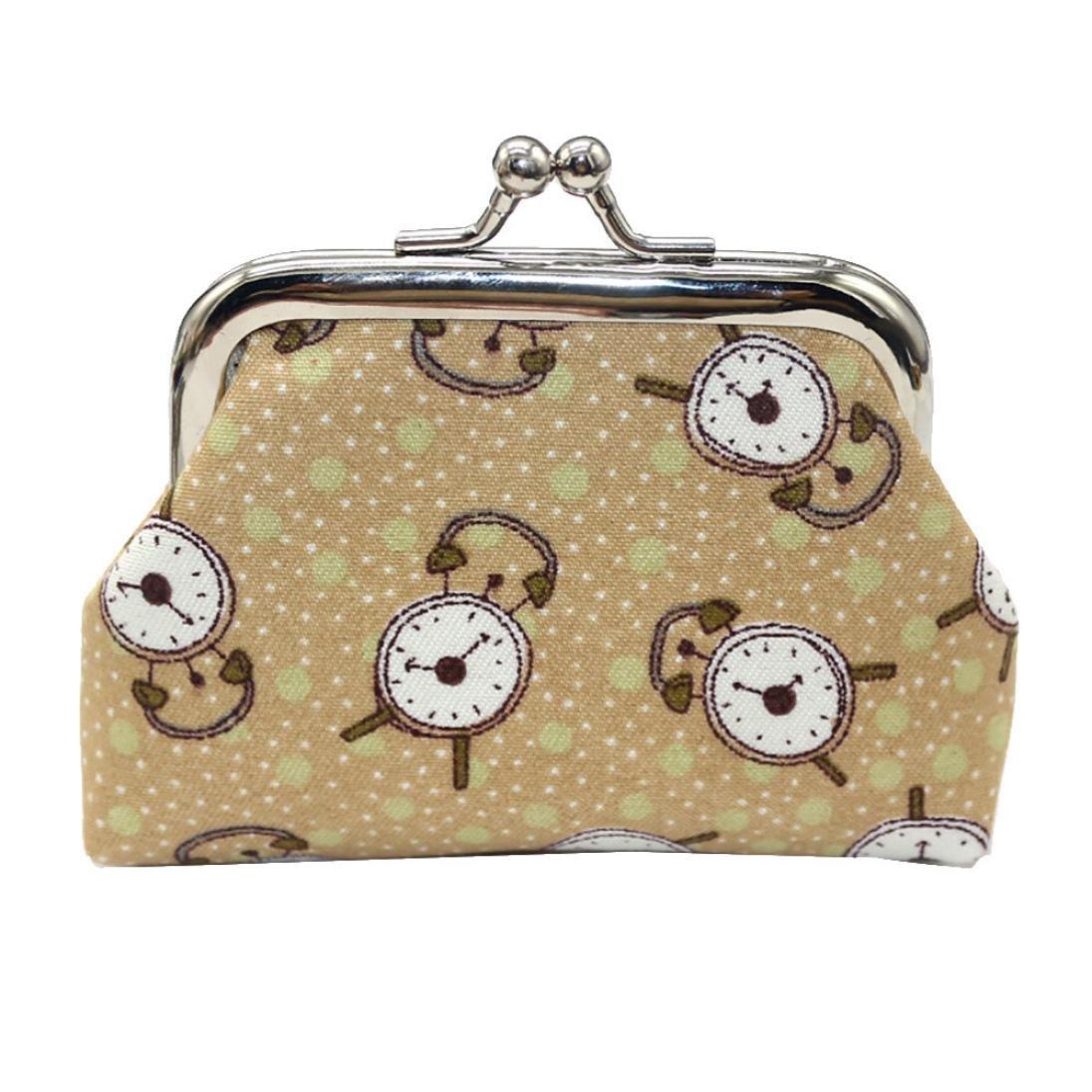 Amazon.com: Monederos con hebilla floral, estilo vintage ...