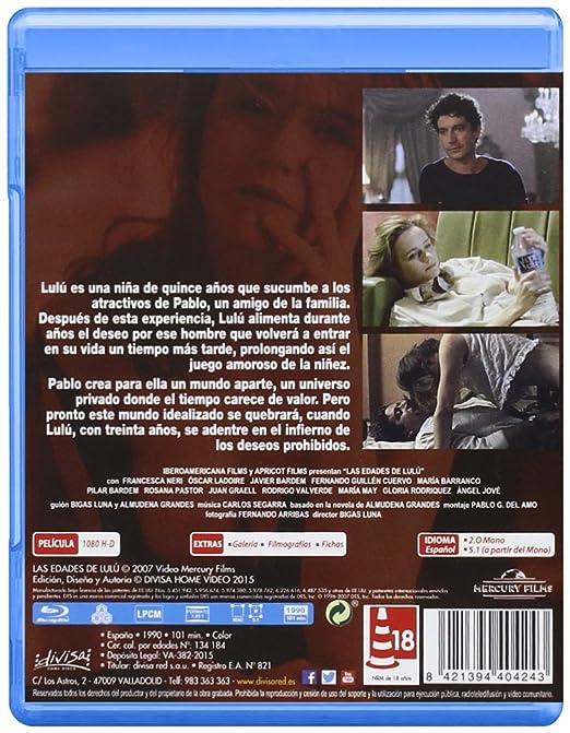 Las edades de Lulú [Blu-ray]: Amazon.es: Francesca Neri ...