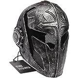 Airsoft táctico OneTigris cara completa protección máscara templarios Caballero juego para hombres