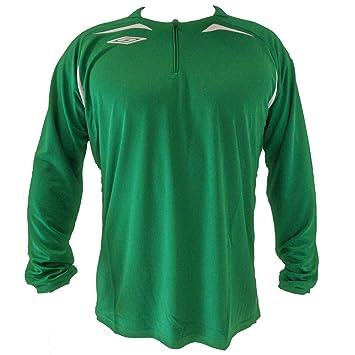 Umbro-Camiseta de fútbol para hombre, diseño de juguete, color verde y blanco