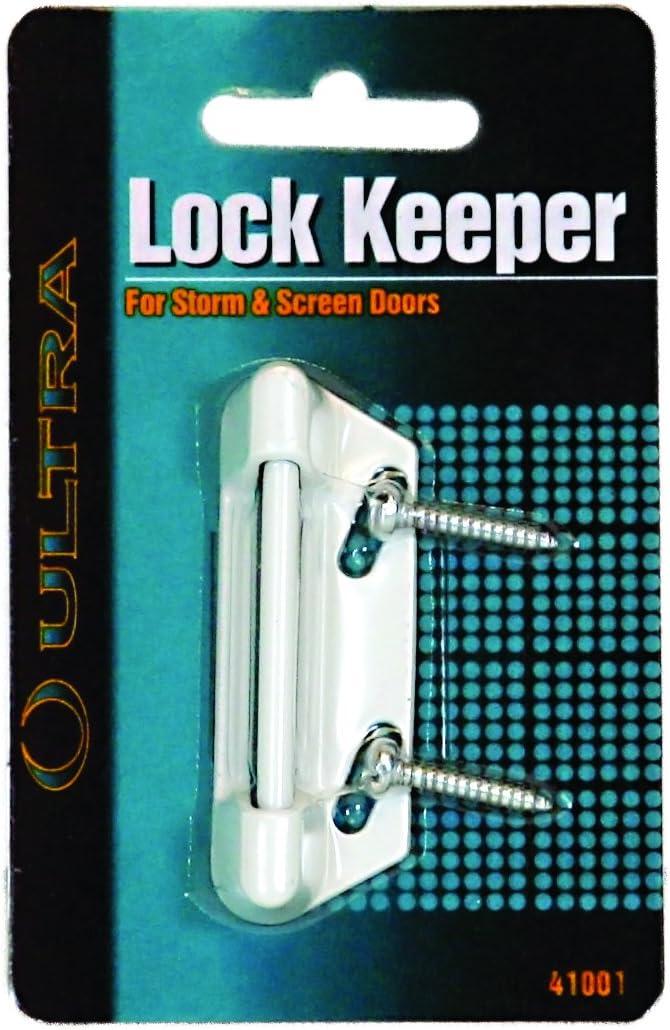 Ultra Hardware 41001 Keeper Storm Door Lock