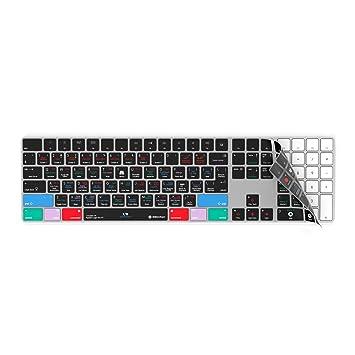 Apple Logic Pro X Funda para teclado compatible con teclado Magic inalámbrico con teclado numérico Pad