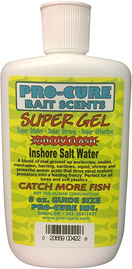 Pro-Cure Super Gel 8 oz bottle Your choice of scents