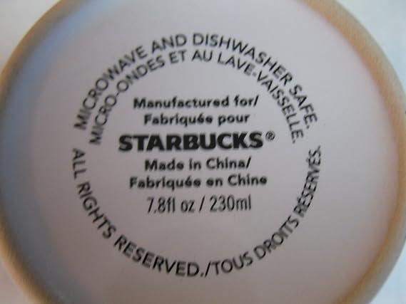 Starbucks 7,8 ml corazón rojo y gris varios de símbolo de ...