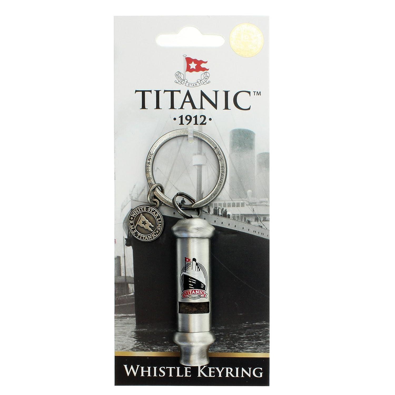 Titanic Whistle Keyring