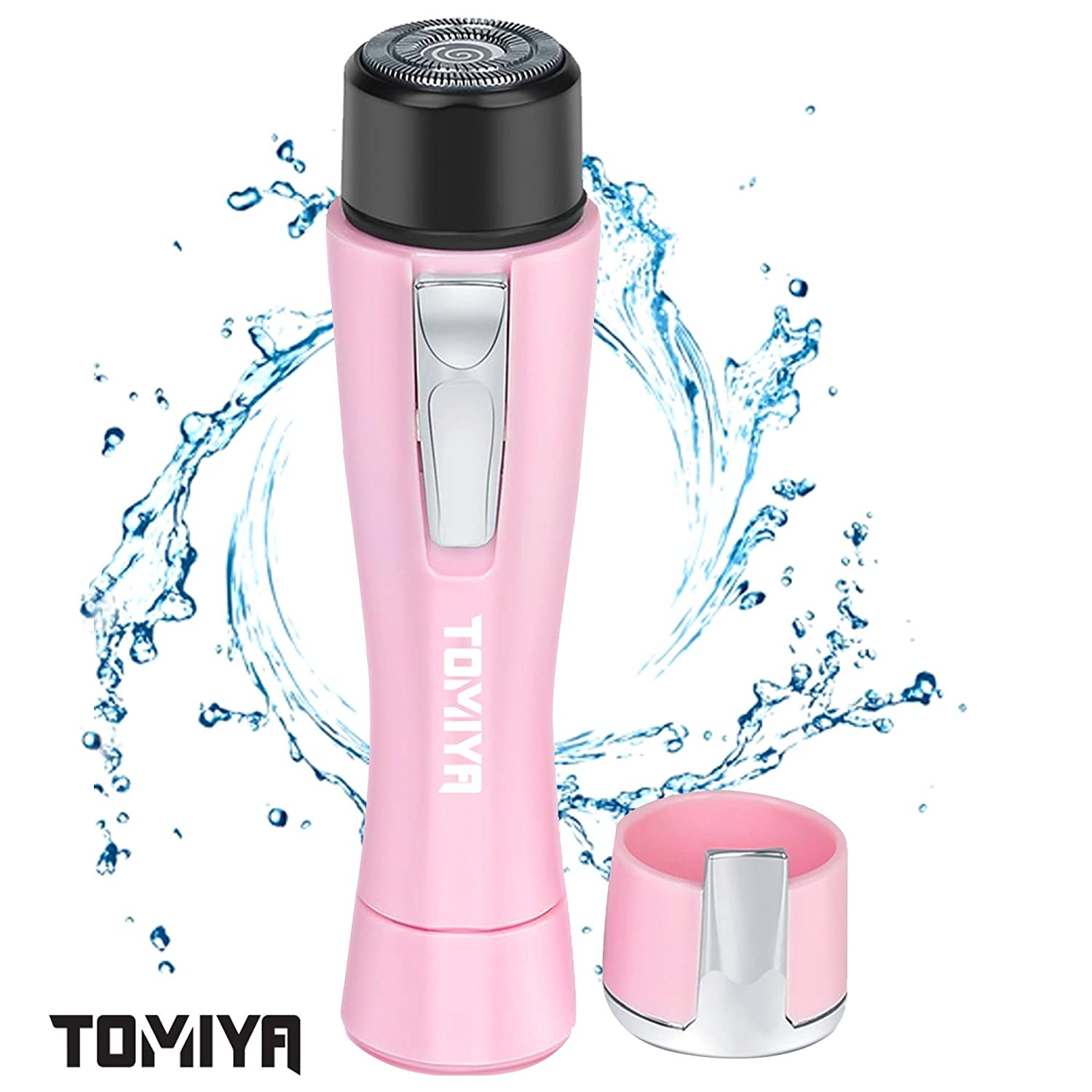 Bangbreak Tomiya Portable Miniature female facial hair remover. Electric Hair remover for women, Safe Painless Hair removal for women,Epilator for Face Lip Body Chin and Cheek. SB A-1