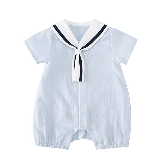44153c3379ae Amazon.com  pureborn Baby Boys Girls Sleeveless Muslin Cotton ...