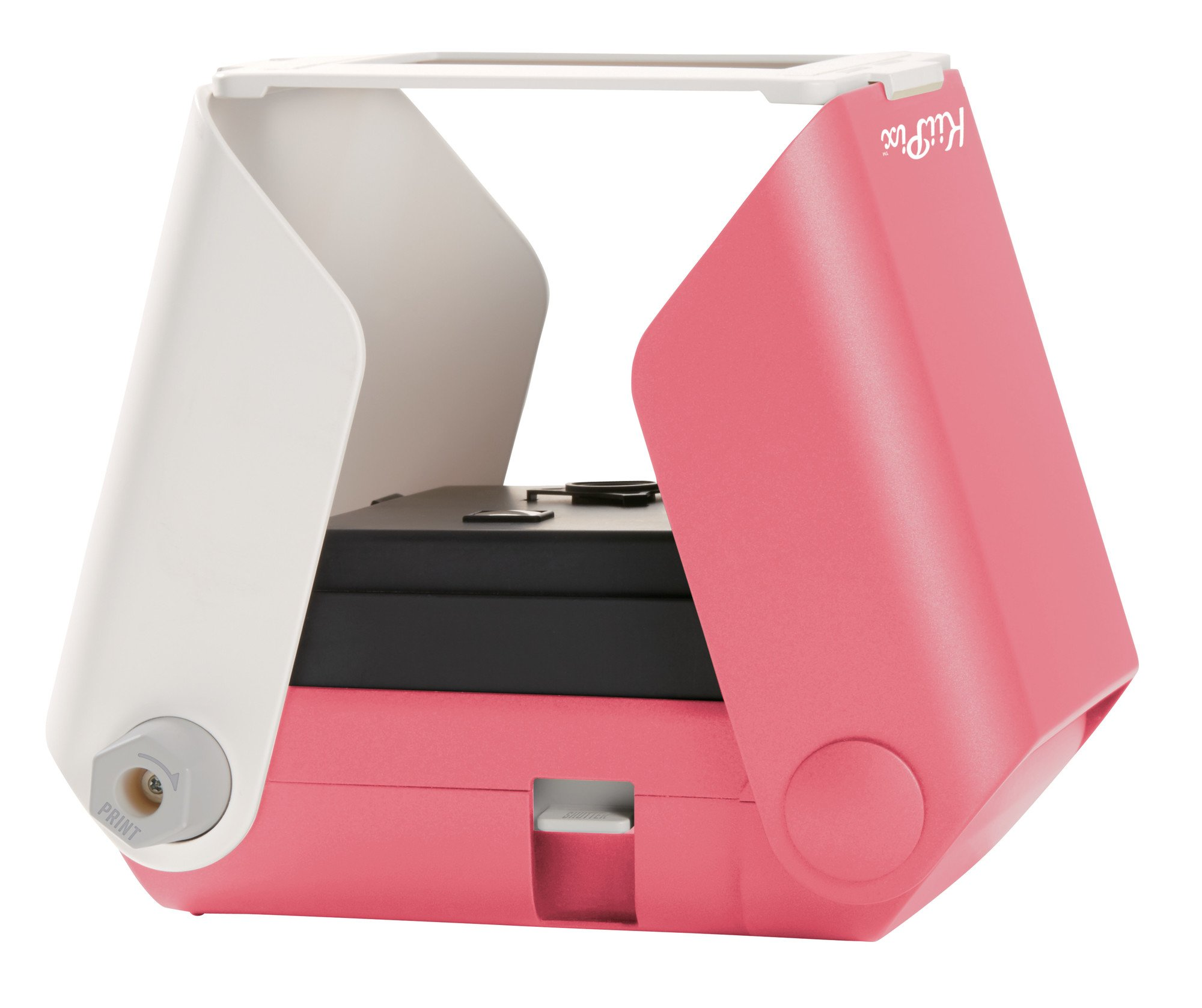 KiiPix Smartphone Picture Printer, Pink | Instantly Print Fun, Retro-Style Photos Right from Smartphone Screen | Portable | No Batteries Required | Great for Crafts, Parties and More!