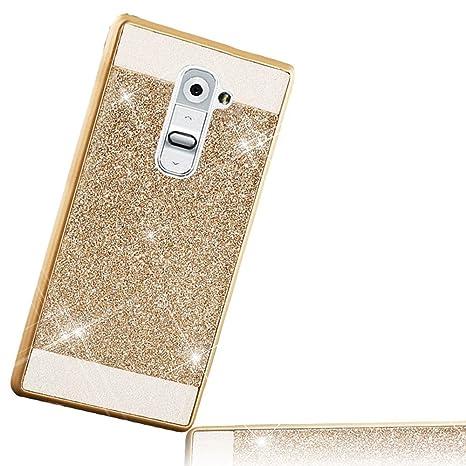 para LG G2 Carcasa, para LG G2 Funda Glitter Sunroyal Funda ...