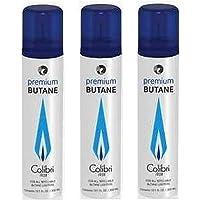 Colibri Premium Butane Large Can - 300 ML 3-Pack