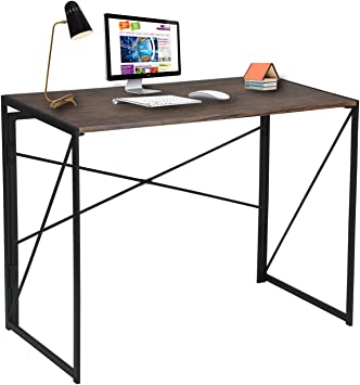 Folding Desk Study Coffee Table Foldable Computer Desk Laptop Office Home Wooden