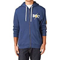 L.Bolt Sleeve Triblend Zip Hoodie Sudadera con Capucha