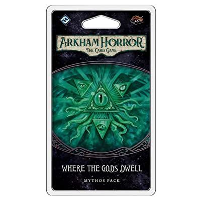 FFG Arkham Horror LCG: Where The Gods Dwell Mythos Pack, Various (AHC43): Toys & Games
