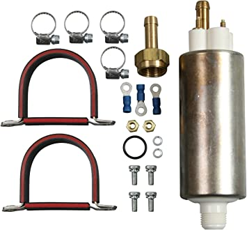 Amazon Com Airtex E8248 In Line Universal Electric Fuel Pump Automotive