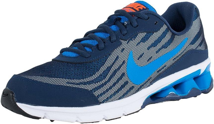 Amazon Com Nike Reax Run 9 Mid Navy Photo Blue Magnet Grey Team