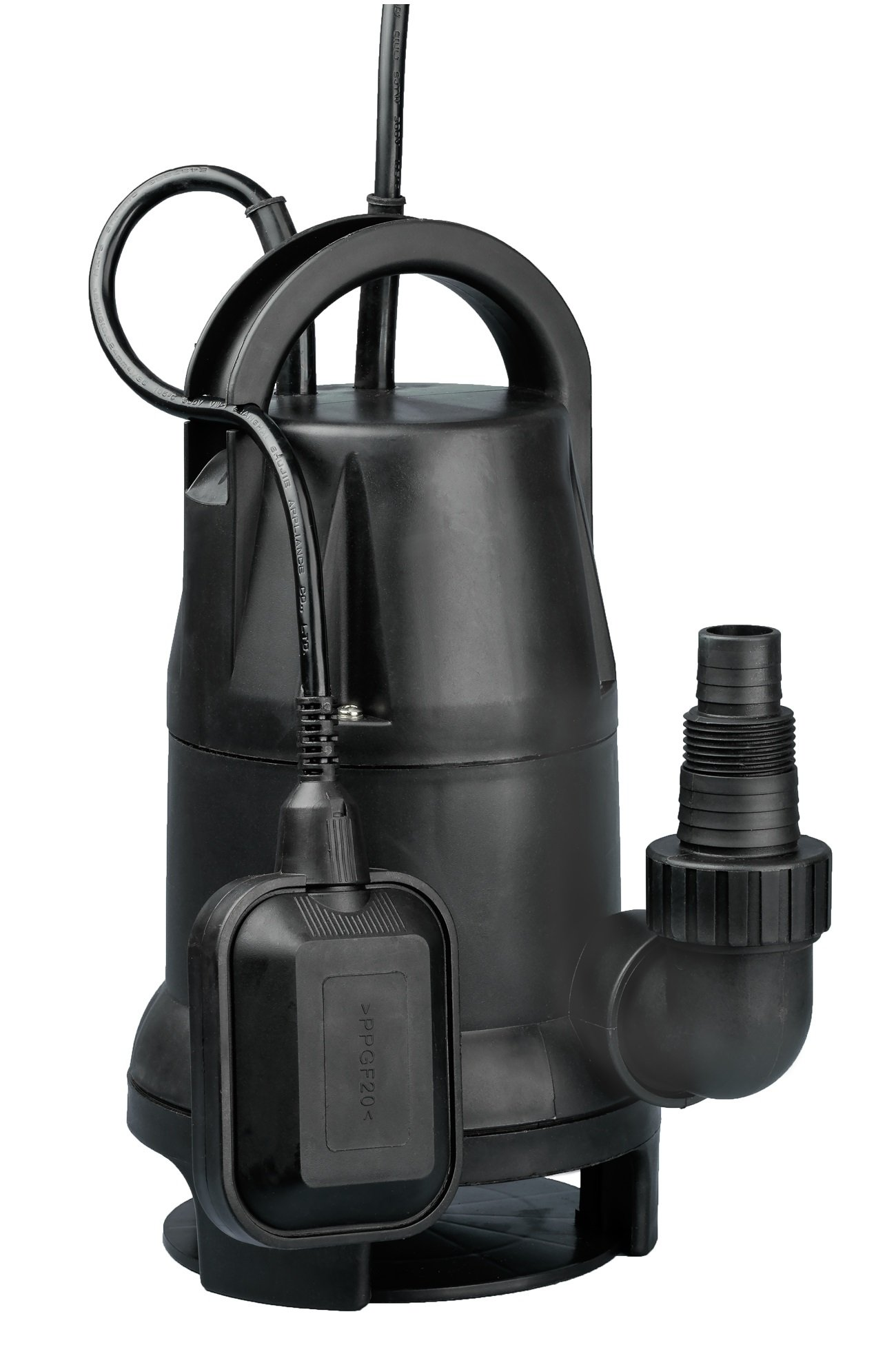 Fpower 1/2 HP 1980GPH Thermoplastic Submersible Utility Pump Clean/Dirty Water Sump Pump With Automatic ON/OFF Float Switch for Fountain, Pond, Pool, Aquarium, Cisterns