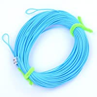 Aorace 100FT Fly Line WF-2F-8F Weight Forward Floating Fly Fishing Line With 2 Welded Loops 4 Colors
