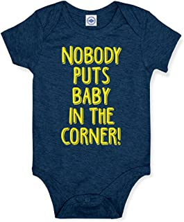 product image for Hank Player U.S.A. Nobody Puts Baby in The Corner Baby Onesie