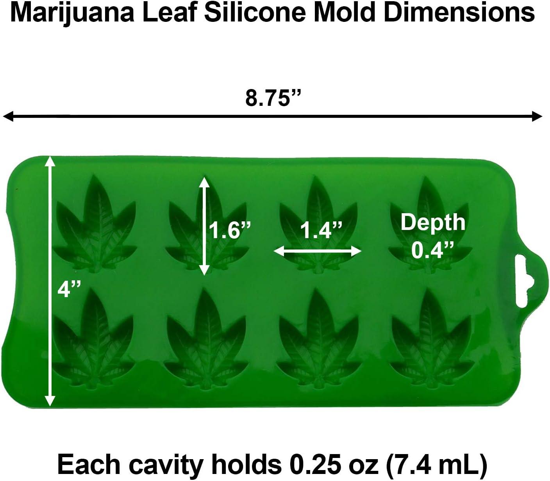 Backgummi Tabletts Cannabis Fondant HZL 3 St/ück Marihuana Cannabis Hanfblatt Silikonformen Candy Weed Pot Mould Schokoladengummi