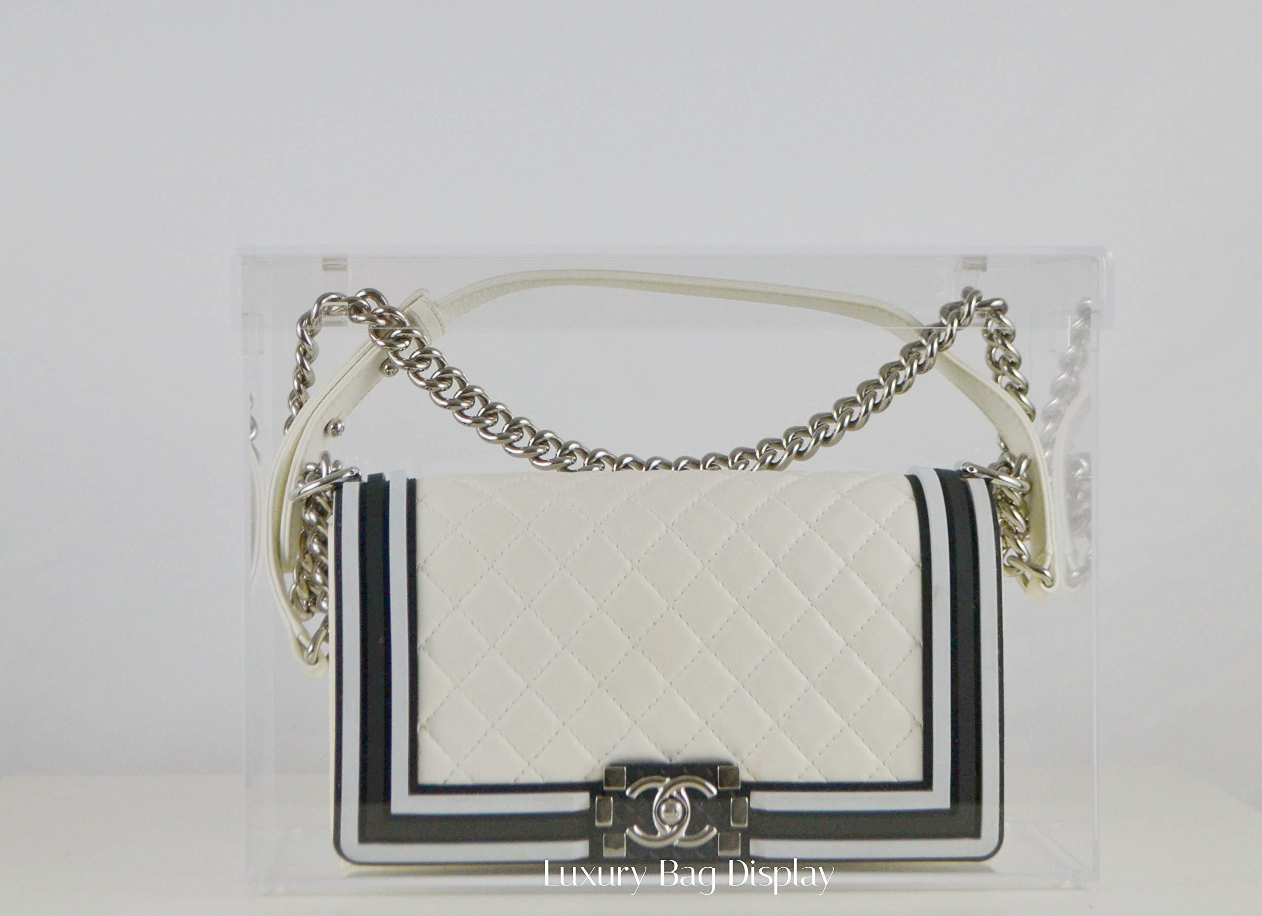 Luxury Bag Display Case Model C Medium Designed for Chanel Classic Flap