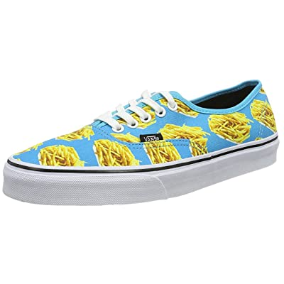 Vans Late Night Authentic Shoes,10.5 M US,Blue Atoll/Fries: Shoes
