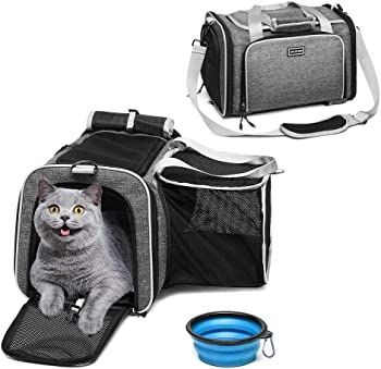 Accofash Premium Airline Approved Expandable Pet Carrier