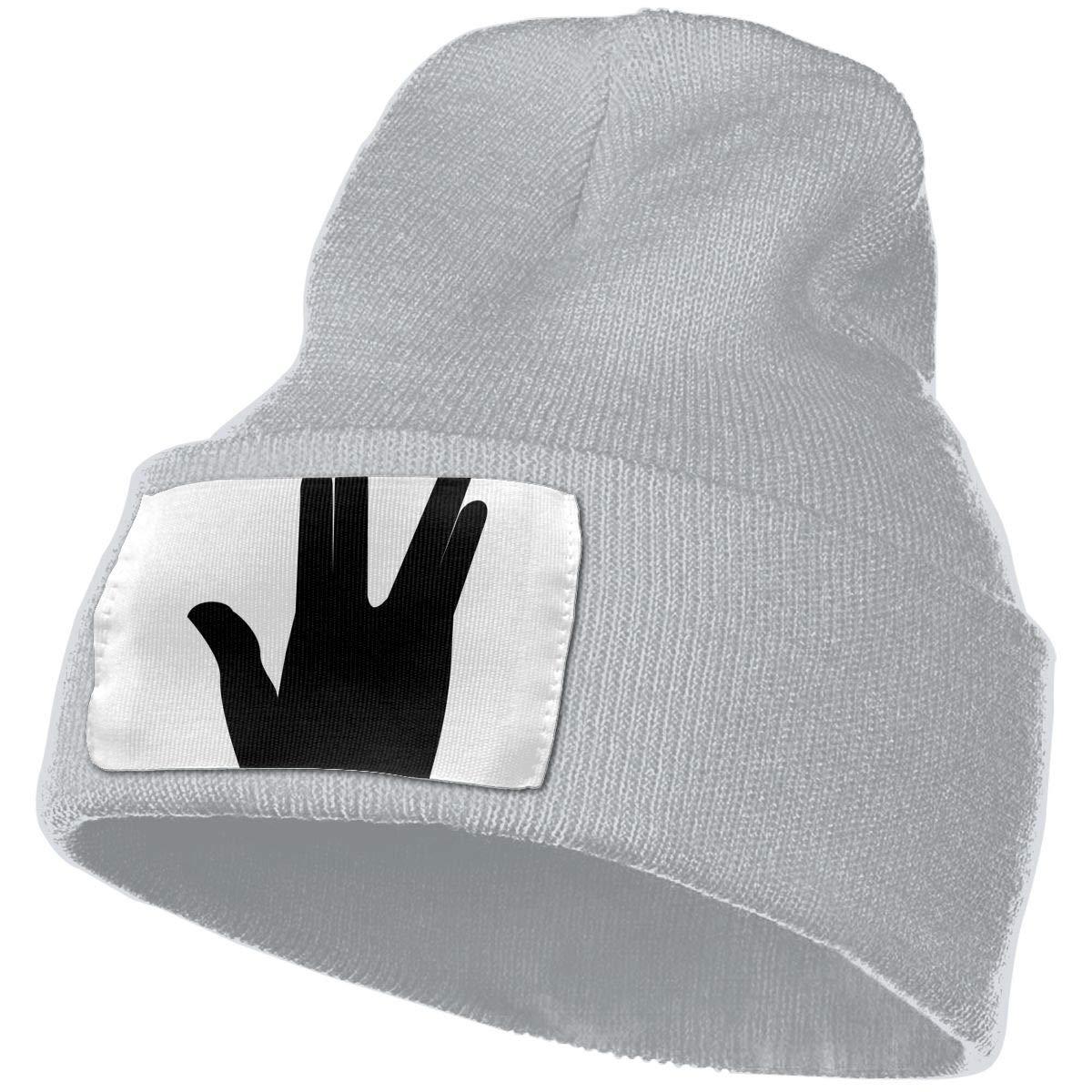 QZqDQ Live Long Unisex Fashion Knitted Hat Luxury Hip-Hop Cap