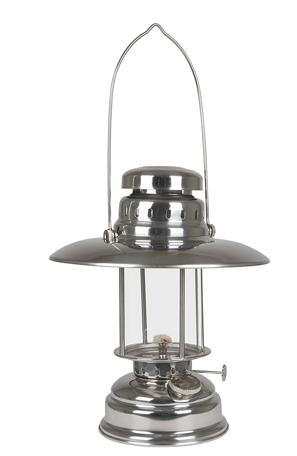 Bo-Camp Urban Outdoor Loxford Hurricane Lantern, Stainless Steel, Silver uk automotive VAOLZ 8219575