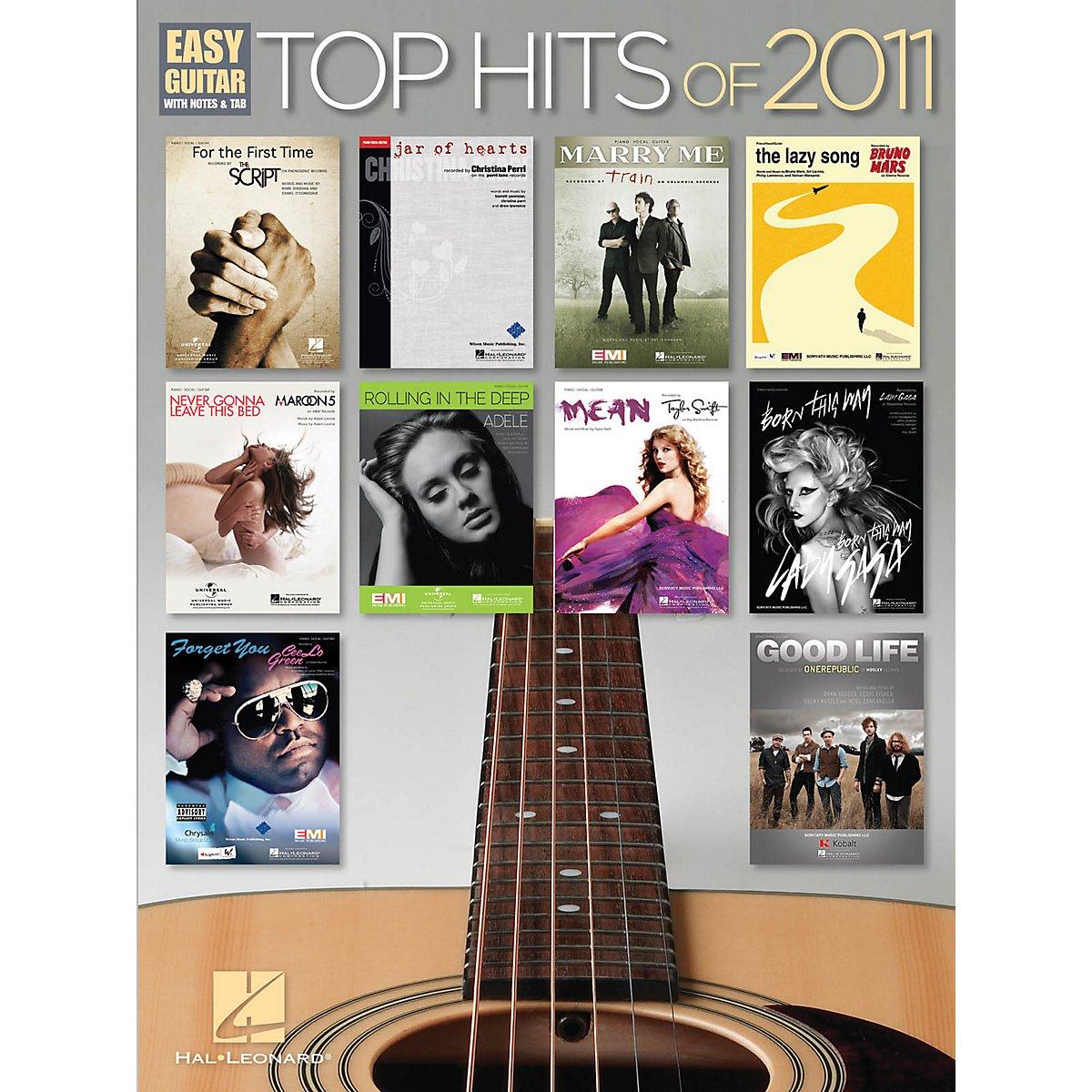 Read Online Hal Leonard Top Hits of 2011 (Easy Guitar) pdf epub