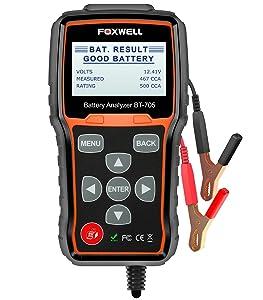 FOXWELL BT705 Battery Tester