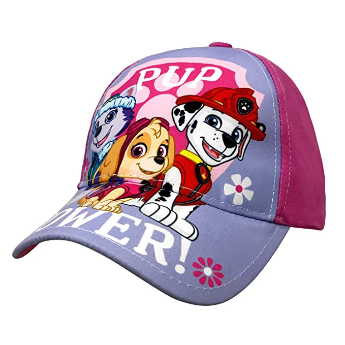 huge discount 2a07c b42eb Image Unavailable. Image not available for. Color  Nickelodeon Paw Patrol  Little Girls Baseball Cap Age 2-5 Pink