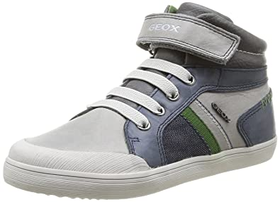 b3e21afda3 Geox Junior Kiwi Boy 42 Leather Causal Sneaker (Toddler/Little Kid/Big Kid