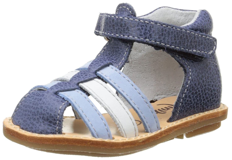 Minibel Keou, Chaussures Bébé Marche Bébé Garçon Bleu (10 Jean/Bleu) 26 EU 1M0293