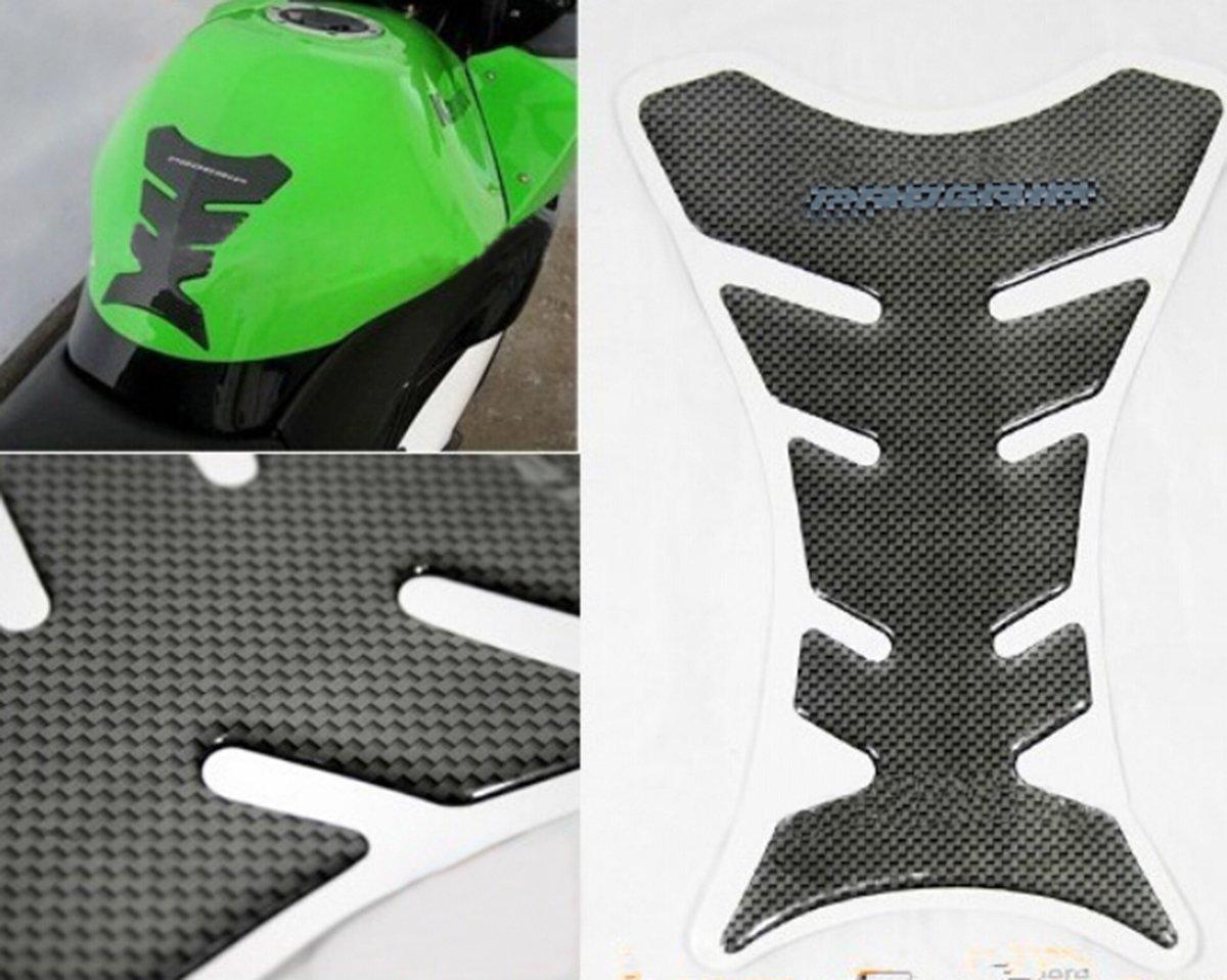 TM R/éservoir de Gaz de Moto Pad de Protection Universel 8 Inch Carbon Sticker R/éservoir niceEshop
