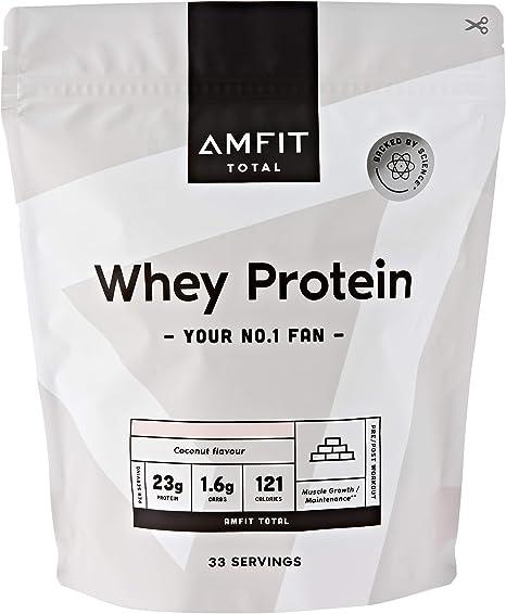 Marca Amazon - Amfit Nutrition Proteína de Suero de Leche en ...