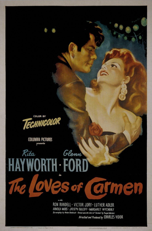 ODSAN The Loves Of Carmen, Rita Hayworth & Glenn Ford, Ron ...